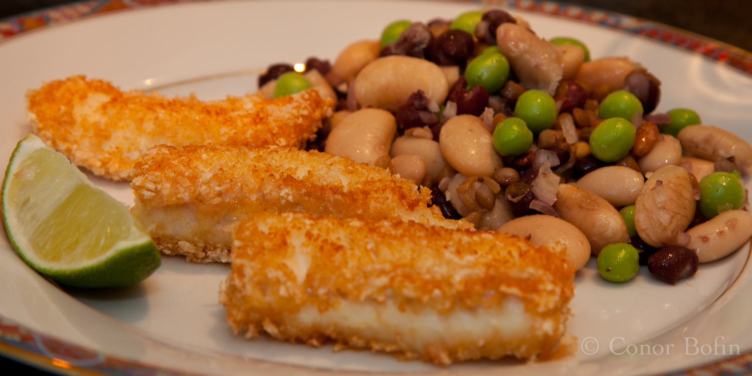 Fish Fingers and Beans
