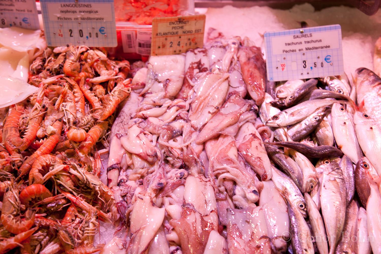 Fresh Fish at Les Halles