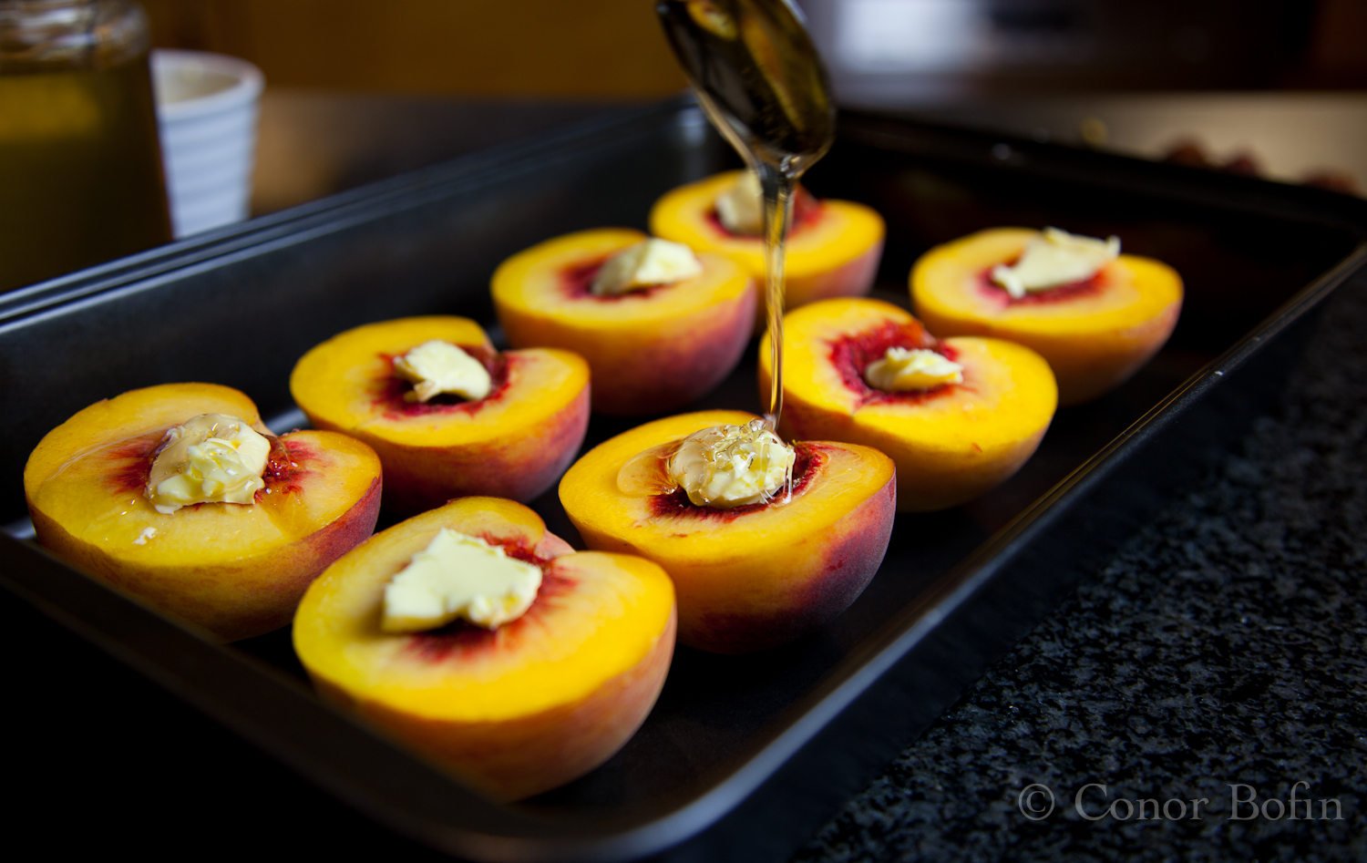 Roasted Peaches