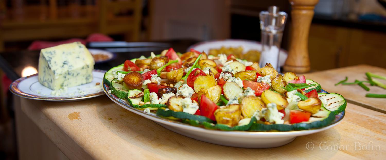 Salad with Stilton