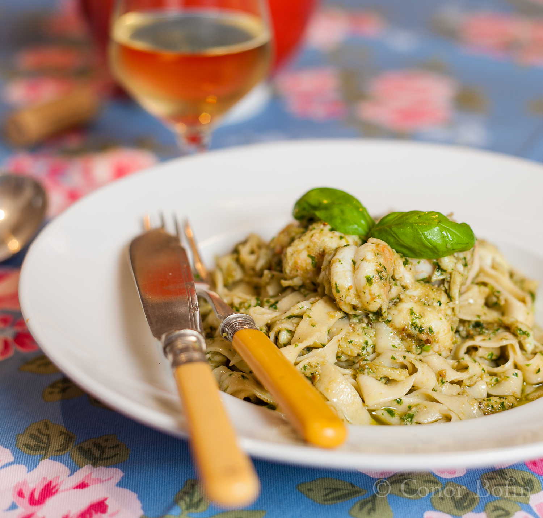 Prawns, Pesto and Fettuccine (13 of 15)