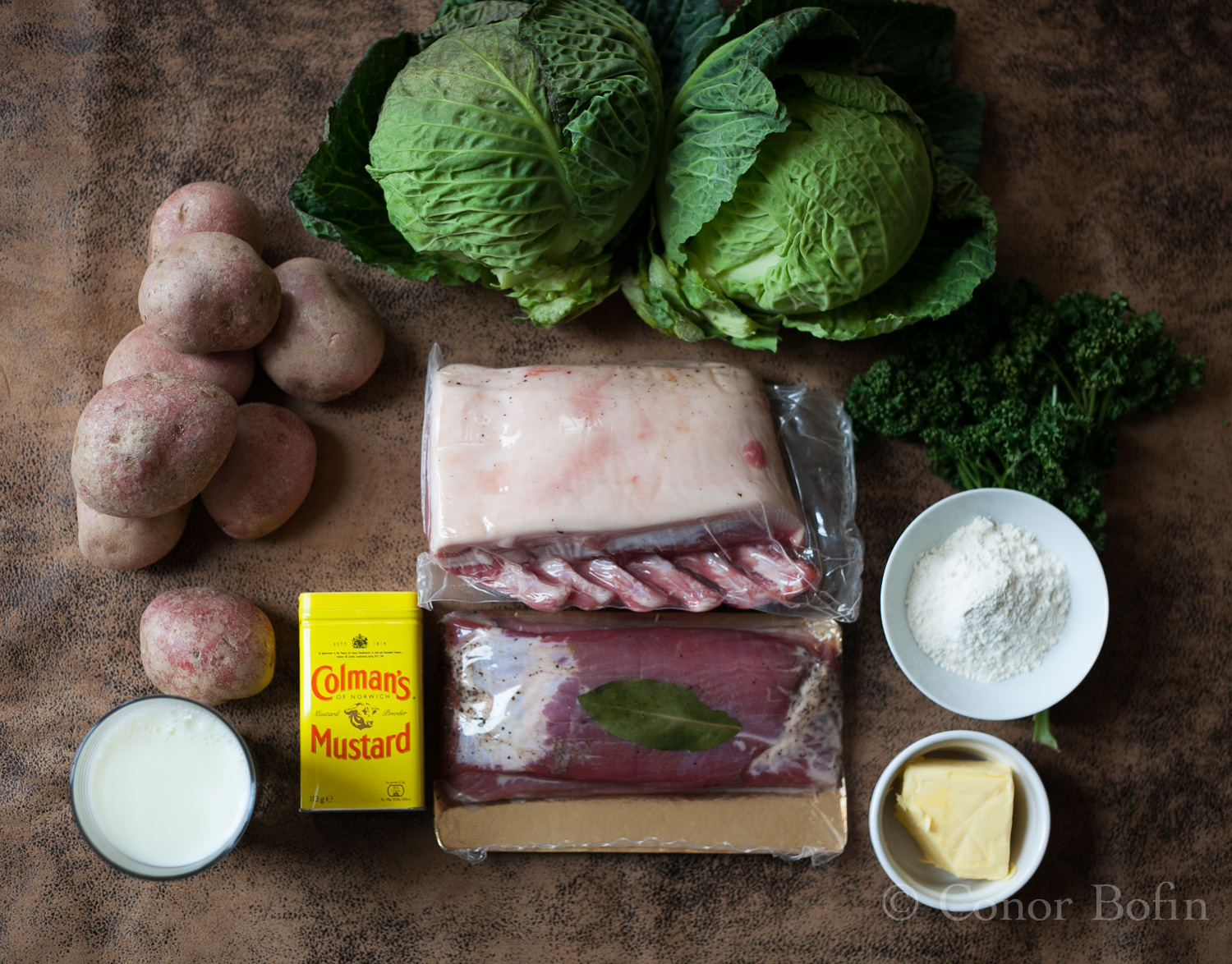 I was very happy with this ingredients shot - Taken standing on a chair in the kitchen.