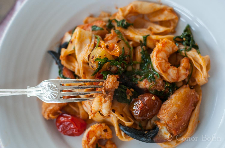 Crab and prawn pasta (18 of 21)