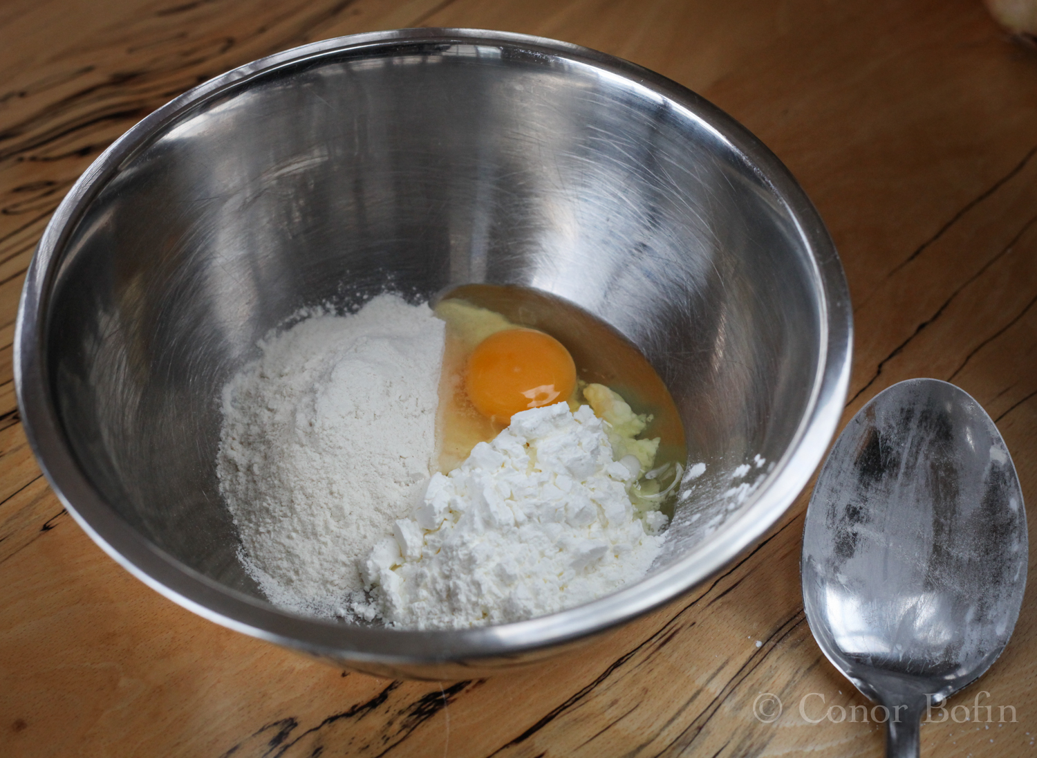 There is very little to making the batter. Just mix up the ingredients.