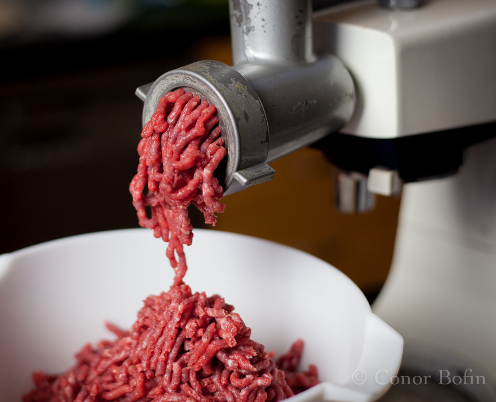 My mincer has been around since the great depression. This may not be it's first meatloaf.