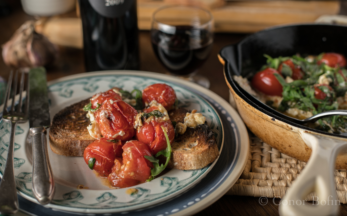 Tomato and feta skillet bake (8 of 9)